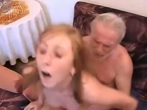 Grandpa fucks NOT his granddaughter