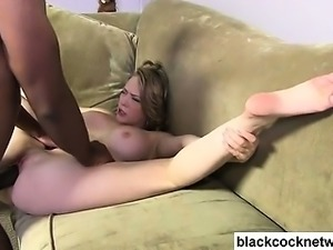 Mandingo fucks big tit blonde whore