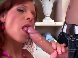 Amazing breathtaking chick Syren De Mer gets asshole licked so well after...