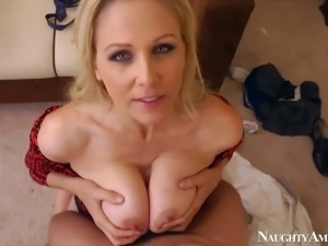 Julia Ann is an unfaithful wife that has a great time fucking with her...