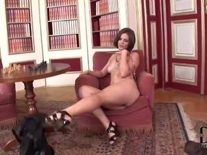 www.PornSharing.com xxx video : Lovely brown haired lady Bobbi Starr with...
