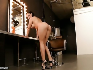 Aletta Ocean with juicy knockers cant live a day without playing with her wet...