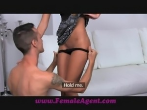 FemaleAgent Amazing casting with delicious skinny stud free