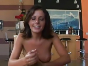 Horny Penny Flame gives an amzing hand job