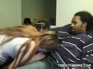 Tracey Sucking Her Black Boyfriends Dick and Fucking free