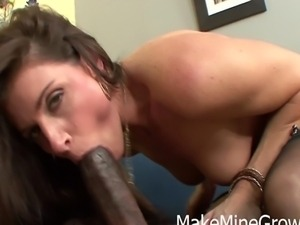 Hot Brunette India Fucked By A Black Guy