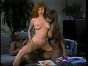Classic Interracial Threesome