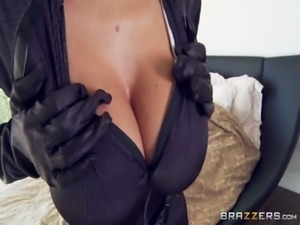Big Tits In Uniform - Ava Addams & Johnny Sins in Maid For Fucking free