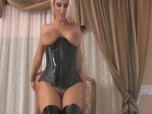 bootjob and teasing with boots