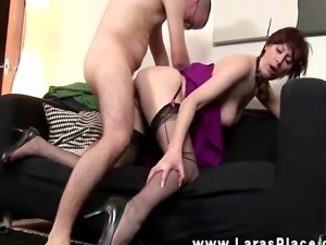 Mature stockings fucked doggystyle and cant get enough in hd