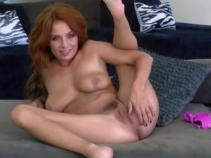 Pornsharing.com free movie - Ashlee Graham is a cute redhead that loves to be...