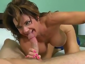 This kinky MILF with enormous juggs loves being screwed long and hard. After...