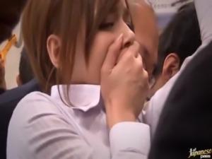 Japanese Girl Masturbates Thinking On The Cumshot She Took On The Bus free