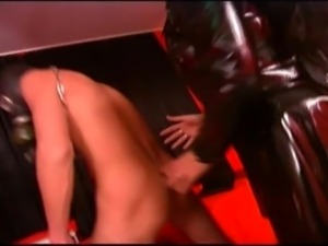 Two dominant female sluts done all kind weird stuff to their male slave.