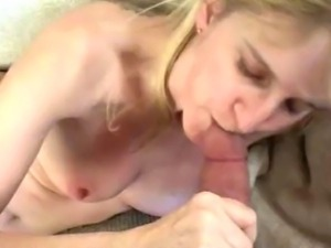 begging to suck my cock, she seemed desperate to suck me so I let her