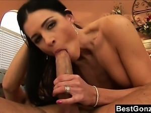 India Summer Bounces On Huge Cock