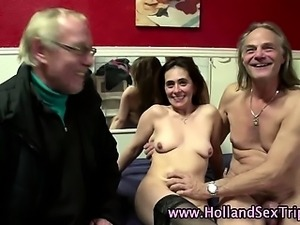 Mature dutch hooker slammed