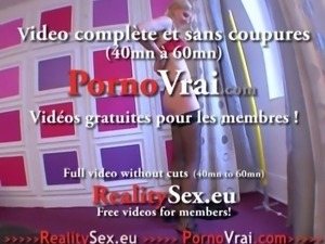 Grande blonde baisee devant sa cop ! French amat