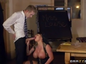 Kerry Louise is a sex obsessed busty teacher with dirty thoughts on her mind....