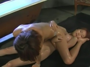 Japanese lesbian femdom punishment