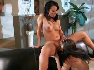 Big breasted lesbian mom Raylene gets pleasure she wont soon forget. She...