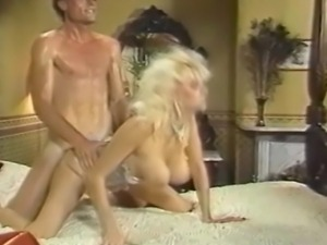 In the 1987 classic film Big Bang, a big boobed chick does a reverse cowgirl...