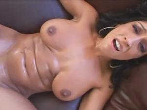 Nasty bitch Rikki White prefers wild sex with brutal black men