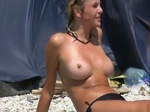 When you look for nude beach hotties, you really get what the saying about...