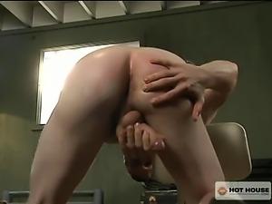 Military Hunk Brandon Bangs shows you how he fucks himself