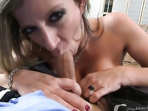 Sara Jay is ready to suck guys tool all night long