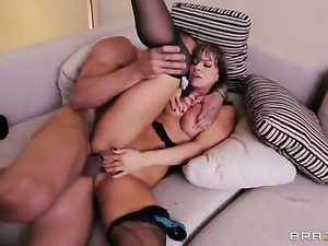 Carlo Carerra gets seduced by Esperanza Gomez and then bangs her mouth
