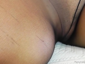 a taste of cock and nylon