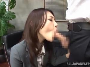 japanese salary man fucks his coworker