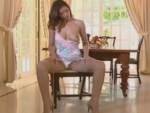 Angel Dark is stunning in her stockings and has her beautiful butthole fucked...
