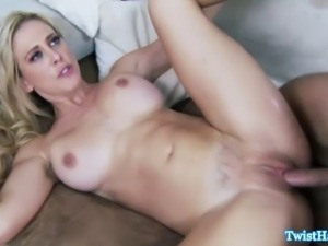 Cherie DeVille sprayed with cum