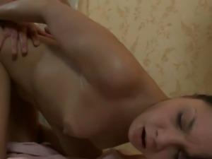 Enjoying a hot and wild massage