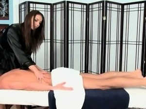 Hot brunette slut goes crazy jerking part2