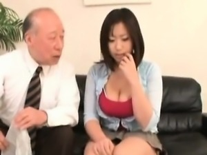 Nasty Asian slut is so horny and she