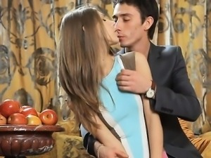 Sexy beautiful teen angel gets drilled