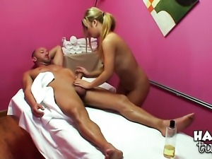 Will Powers gets pleasure from fucking Blonde Sayeh in her sweet mouth