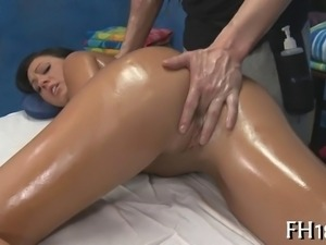 Hot 18 year old cutie gets fucked hard by her massage therapist