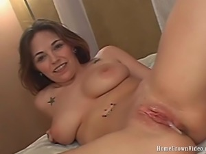 HomegrownVideos - Big Breasted Adara Bears It Beautiful