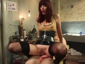 maitresse madeline teases her slave