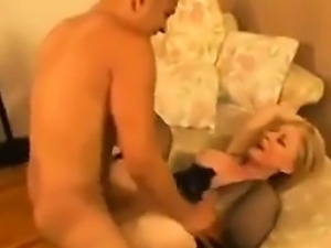 Sexy Mother In Stockings