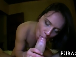 Hardcore fucking for wild chick