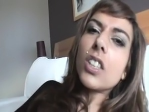 Hot French girlfriend fucked really good by lover