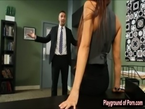 Big tits Madison Ivy fucked and facialed by her client free