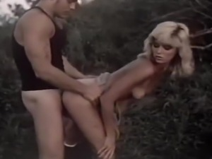 Outdoor vintage movie