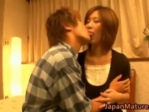 Japanese mature lady has great sex part5.