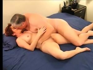 Grandma and grandpa make love